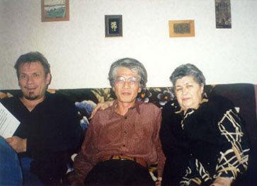 Ольга Исмаиловна и Эйдзи Камия (2001 г.).