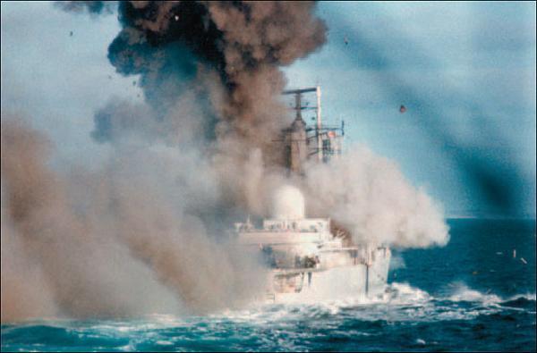 Фото Британский эсминец