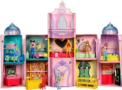 Игры кукольный домик трикс