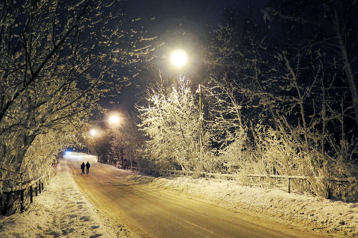 Зима скоро уйдет