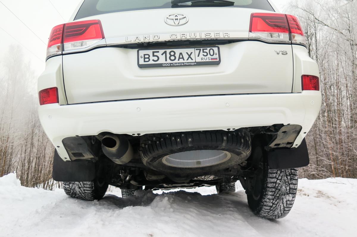 Toyota Land Cruiser 200 часть 3 (неровности и электроника)