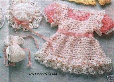 вязание крючком платье для девочки схема с фото.