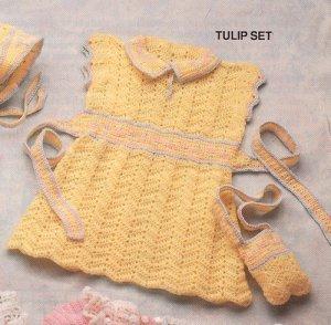 платье вязаное для девочки крючком схемы.