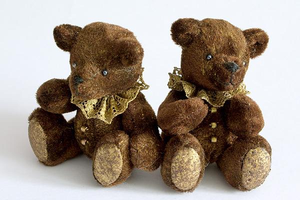 МиниатюраДля любителей миниатюрных мишек тедди предлагаю свой мастер...