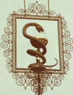 эмблемы медицины со знаком змеи